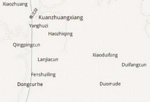 Duomude, near Kuanzhuangxiang, Fumin County